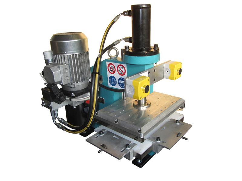 fustellatrice poe 50 elettromeccanica bimanuale